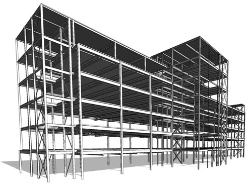 3D Structural view #1